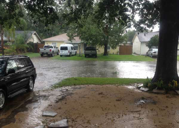 These are photos you&#39;ve been sending us of Saturday&#39;s rain across the Houston area.  If you have photos or videos to send, email them to us at news@abc13.com. More photos are at iWitness.abc13.com <span class=meta>(Photo&#47;iWitness Reports)</span>