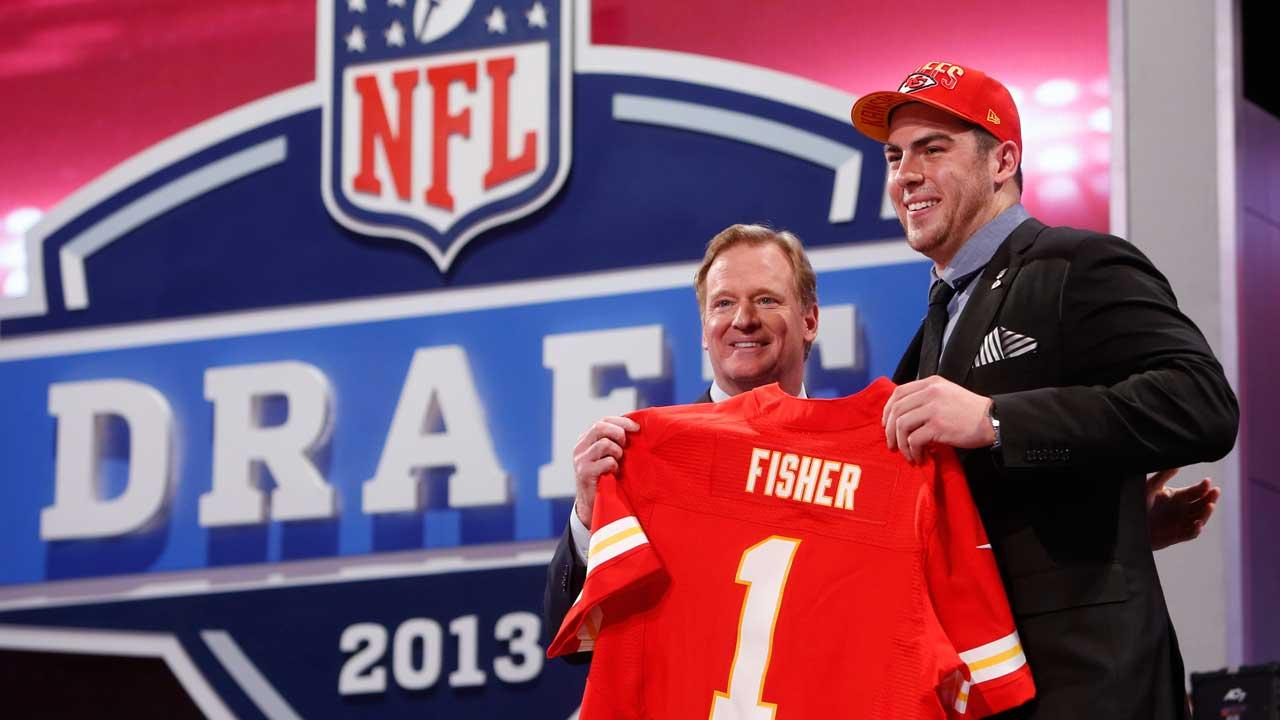 NFL Draft; Eric Fisher