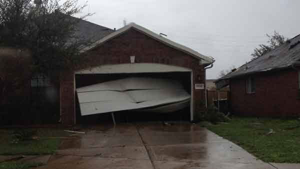 These are photos sent in through our iWitness reports.  If you have photos or videos from Monday's storms, email it to us at news@abc13.com or upload them to iWitness.abc13.com