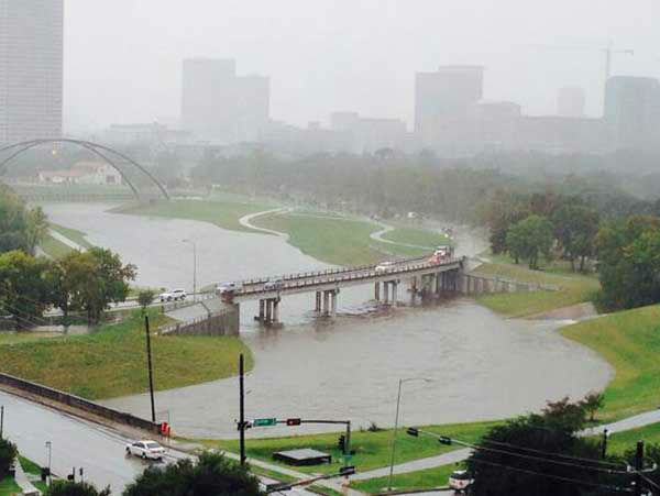 These are some of the photos you&#39;ve been sending to us of flooding and damage from storms across the Houston area.  If you have photos or videos, email them to us at news@abc13.com <span class=meta>(Photo&#47;iWitness reports)</span>