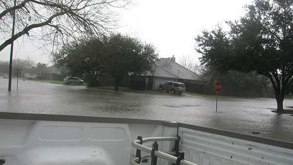 These photos were sent to us through our iWitness Reports.  Send your photos or videos to news@abc13.com or upload them here
