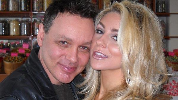A photo of Doug Anthony Hutchinson and bride Courtney Alexis Stodden from her official website. - Provided courtesy of CourtneyStodden.com