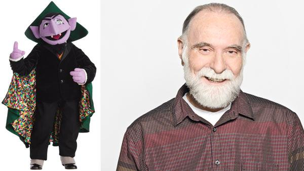 The Count appears in a photo from Sesame Street's official Facebook page. / Jerry Nelson appears in an undated photo from the official Sesame Street website.
