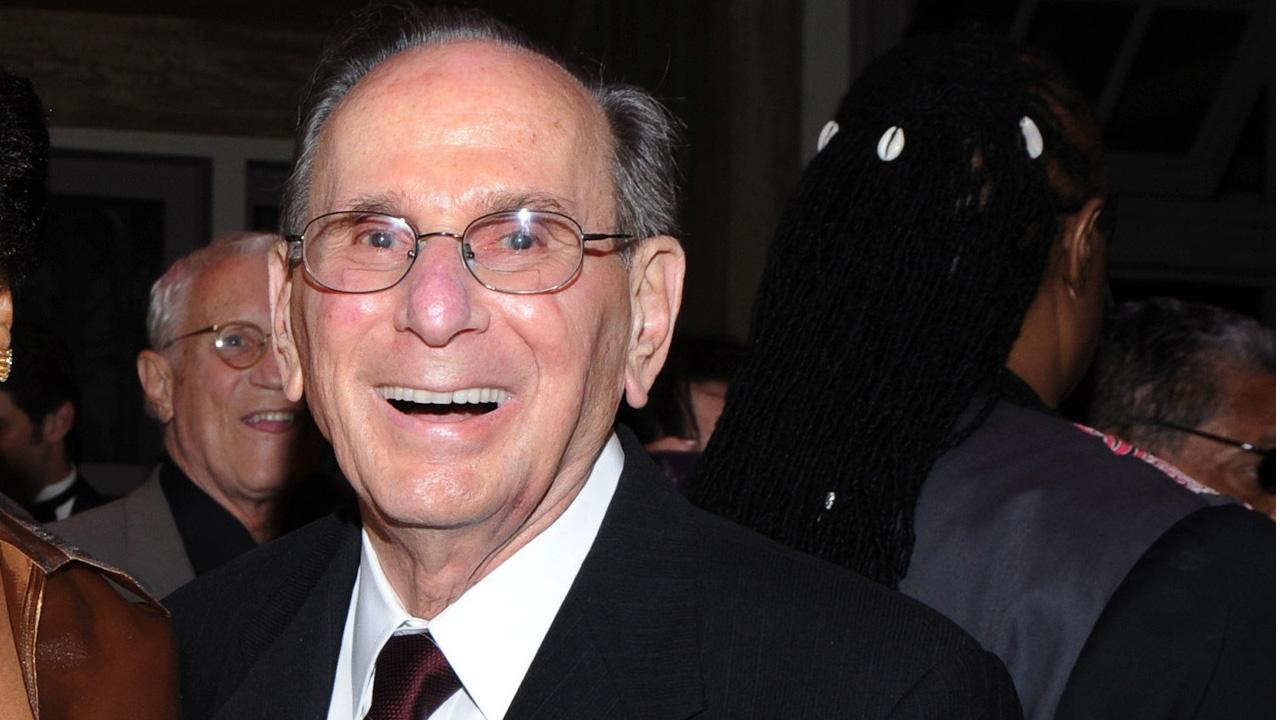 This Oct. 17, 2011 file photo shows legendary songwriter Hal David at the Love, Sweet Love musical tribute to him on his 90th birthday in Los Angeles, Calif.Vince Bucci, File