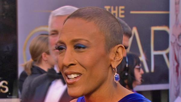 Robin Roberts talks 'GMA' return at Oscars