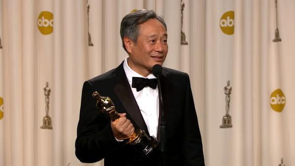 OTRC: Ang Lee Oscars backstage speech