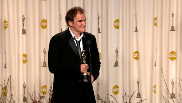 Quentin Tarantino Oscars backstage speech