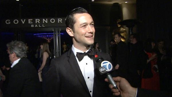 Joseph Gordon Levitt talks at the Governors Ball