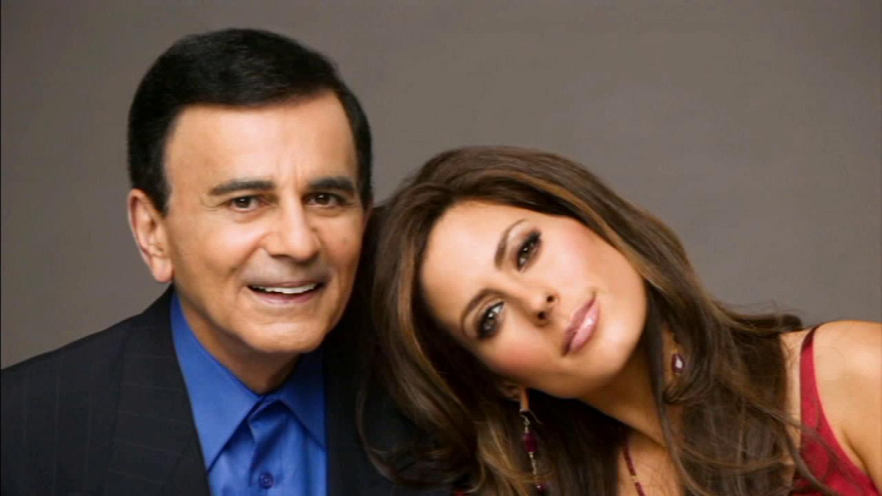 Radio legend Casey Kasem is seen with his daughter Kerri in this undated file photo.