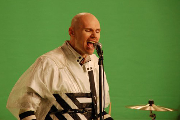 Billy Corgan turns 45 on March 17, 2012.  The musician is one of the founding members of rock band The Smashing Pumpkins.  &#40;Pictured: Billy Corgan is pictured in a photo of him at a music video shoot.&#41; <span class=meta>(facebook.com&#47;smashingpumpkins)</span>