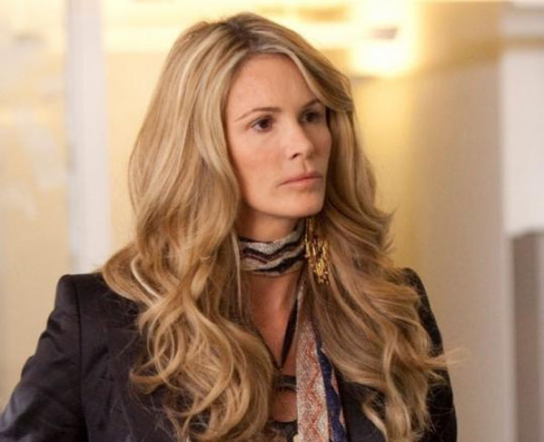 (Pictured: Elle Macpherson is pictured in a scene from 'The Beautiful Life: TBL.')