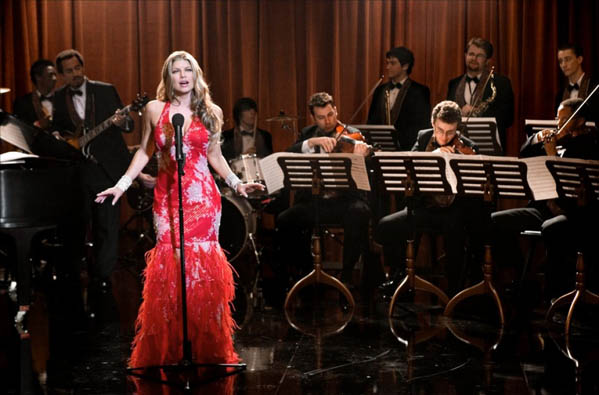 Fergie turns 37 on March 27, 2012.  She is the singer for hip-hop group, The Black Eyed Peas.  &#40;Pictured: Fergie is pictured in a scene from &#39;Poseidon.&#39;&#41; <span class=meta>(Warner Bros. Pictures)</span>