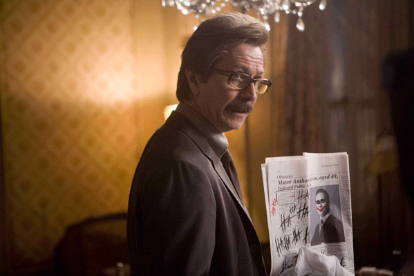 Gary Oldman turns 54 on March 21, 2012.  The actor is known for films such as &#39;True Romance,&#39; &#39;The Fifth element,&#39; &#39;Hannibal&#39; and &#39;The Dark Knight.&#39;  &#40;Pictured: Gary Oldman is pictured in a scene from &#39;The Dark Knight.&#39;&#41; <span class=meta>(Warner Brothers Pictures)</span>