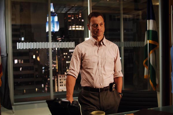 Gary Sinise turns 57 on March 17, 2012.  The actor is known for films such as &#39;Forrest Gump,&#39; &#39;The Green Mile&#39; and &#39;Mission to Mars.&#39;  &#40;Pictured: Gary Sinise is pictured in a scene from &#39;CSI: NY.&#39;&#41; <span class=meta>(Alliance Atlantis Communications)</span>