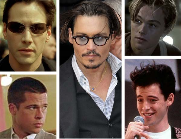 Johnny Depp missed out on several major movie roles, some of which are classics.  Depp could have played Ferris Bueller in &#39;Ferris Bueller&#39;s Day Off&#39; &#40;part went to Matthew Broderick&#41;,  Jack Dawson in &#39;Titanic&#39; &#40;part went to Leonardo DiCaprio&#41;, John Smith in &#39;Mr. and Mrs. Smith&#39; &#40;part went to Brad Pitt&#41; and Neo in &#39;The Matrix&#39; &#40;part went to Keanu Reeves&#41;.  Pictured: Johnny Depp &#40;center&#41; in 2009 during the premiere of &#39;Public Enemies.&#39;  Brad Pitt &#40;bottom left&#41; appears in a scene from &#39;Mr. and Mrs. Smith.&#39;  Keanu Reeves &#40;upper left&#41; appears in a scene from &#39;The Matrix.&#39;  Matthew Broderick &#40;bottom right&#41; appears in a scene from &#39;Ferris Bueller&#39;s Day Off.&#39;  Leonardo DiCaprio &#40;upper right&#41; appears in a scene from &#39;Titanic.&#39; <span class=meta>(flickr.com&#47;photos&#47;nicogenin  |  Regency Enterprises  |  Warner Bros. Pictures  |  Paramount Pictures  |  Twentieth Century Fox Film Corporation)</span>