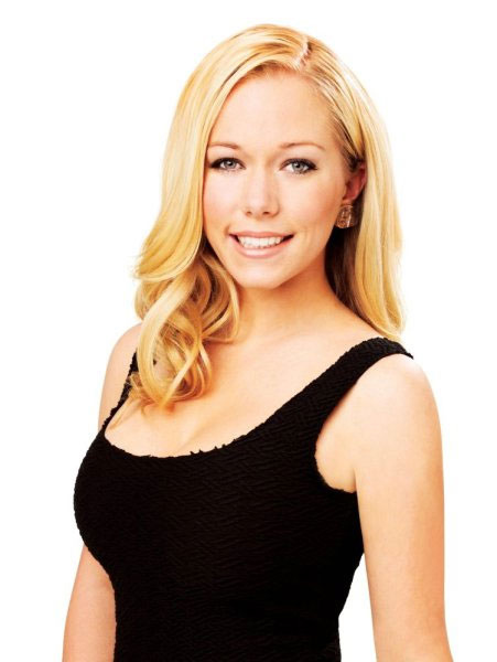 Kendra Wilkinson appears in a promotional photo...