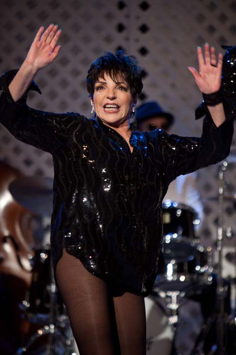 "<div class=""meta ""><span class=""caption-text "">Liza Minnelli turns 66 on March 12, 2012. The Broadway star is the daughter of Judy Garland and appeared  in films such as, 'Cabaret,' 'New York, New York' and 'Arthur.'  She performed Beyoncé's hit song 'Single Ladies,' in the film 'Sex and the City 2.'  (Pictured: Liza Minnelli appears in a scene from the 2008 movie 'Sex and the City 2.') (New Line Cinema)</span></div>"