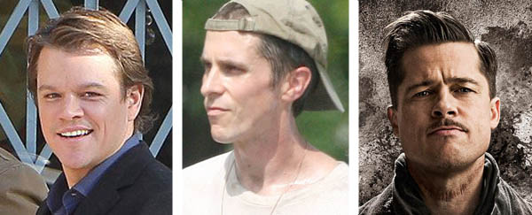 Matt Damon and Brad Pitt sought the role of Dick Eklund in &#39;The Fighter,&#39; but the role was ultimately played by Christian Bale.  A good choice, considering Bale won a 2011 Academy Award for Best Supporting Actor for the part.  Pictured: Matt Damon &#40;left&#41; appears on the set of &#39;We Bought a Zoo.&#39; Christian Bale &#40;center&#41; appears in a scene from &#39;The Fighter.&#39;  Brad Pitt &#40;right&#41; appears in an advertisement for &#39;Inglorious Basterds.&#39; <span class=meta>(http:&#47;&#47;www.facebook.com&#47;MattDamon | Closest to the Hole Productions | Universal Pictures)</span>