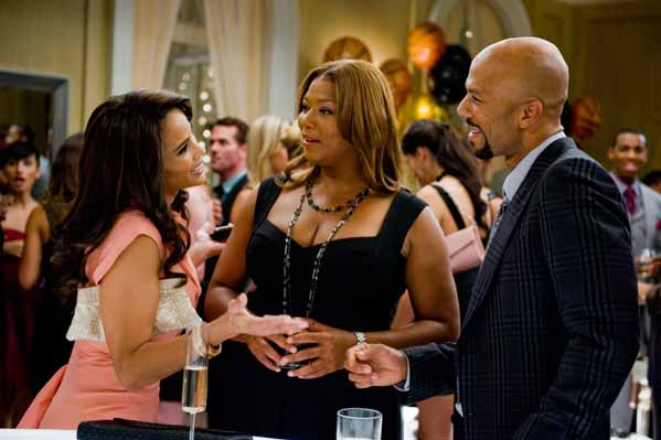 Queen Latifah turns 42 on March 18, 2012.  The singer and actress is known for films such as &#39;Chicago,&#39; &#39;Just Wright&#39; and &#39;The Secret Life of Bees.&#39;  &#40;Pictured: Queen Latifah &#40;center&#41; is pictured in a scene from &#39;Just Wright.&#39;&#41; <span class=meta>(Fox Searchlight Pictures)</span>