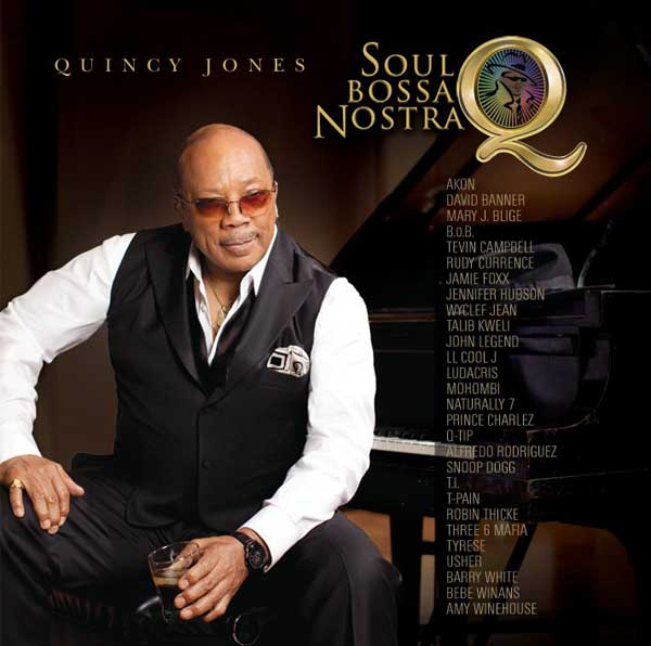 Quincy Jones turns 79 on March 14, 2012. The record producer, father of actress Rashida Jones, is famous for producing albums of many famous artists, notably Michael Jackson.   &#40;Pictured: Quincy Jones is pictured on the cover of his 2010 studio album &#39;Q Soul Bossa Nostra.&#39;&#41; <span class=meta>(Qwest, Interscope)</span>