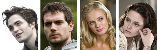 Here&#39;s something to sink your teeth into:  We could have seen Henry Cavill play Edward in &#39;Twilight,&#39; but the role went to Robert Pattinson after Cavill was deemed too old for the part.  For all of you &#39;twi-hard&#39; fans, imagine if Kristen Stewart had not received the part of Bella, the role may have been played by Sara Paxton, who also auditioned.  Pictured: Robert Pattinson &#40;left&#41; appears as Edward in &#39;Twilight.&#39;  Henry Cavill &#40;second from left&#41; appears in an episode from the Showtime television series &#39;The Tudors.&#39;  Sara Paxton &#40;second from right&#41; appears in a scene from &#39;Superhero Movie.&#39;  Kristen Stewart &#40;right&#41; appears as Bella in &#39;Twilight.&#39; <span class=meta>(Summit Entertainment | Showtime Networks | Dimension Films | Summit Entertainment)</span>