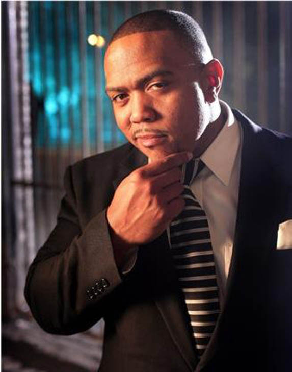 Timbaland is pictured in an undated photo from his Myspace page.