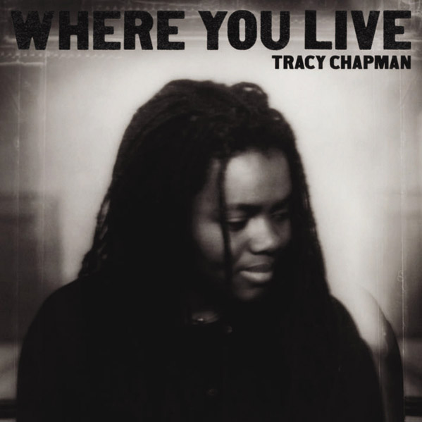 (Pictured: Tracy Chapman is pictured on the cover of her album 'Where You Live.')