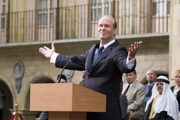 William Hurt turns 62 on March 20, 2012.  The actor is known for films such as &#39;A.I. Artifical Intelligence,&#39; &#39;Into the Wild,&#39; &#39;The Incredible Hulk,&#39; &#39;Broadcast News&#39; and &#39;Robin Hood.&#39;  &#40;Pictured: William Hurt is pictured in a scene from the film &#39;Vantage Point.&#39;&#41; <span class=meta>(Columbia Pictures)</span>