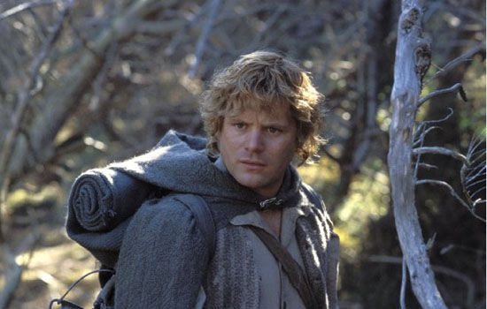Sean Astin as Samwise Gamgee in 'The Lord of the Rings: The Return of the King.'