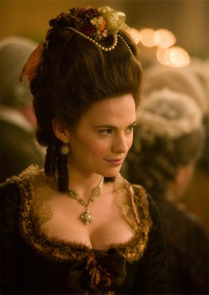 Hayley Atwell in a scene from 'The Duchess.'