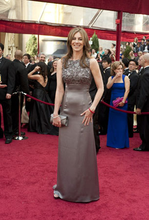 Kathryn Bigelow on the red carpet, 2010.