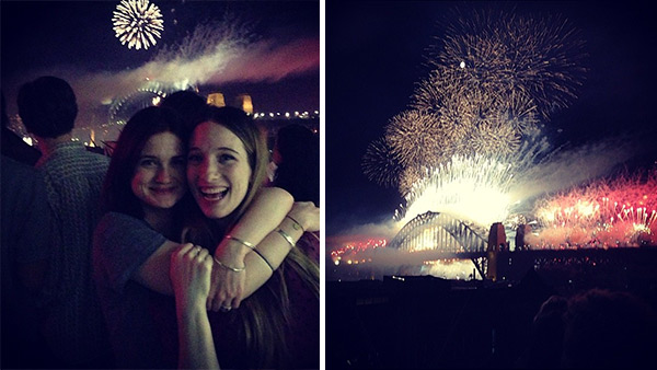 Bonnie Wright, who played Ginny Weasley in the &#39;Harry Potter&#39; films, posted this Instagram photo on Dec. 31, 2012, saying: &#39;Happy New Year!!!!!!&#39; <span class=meta>(instagram.com&#47;p&#47;T53YcgSMq8&#47; &#47; instagram.com&#47;p&#47;T54ANnSMre&#47;)</span>