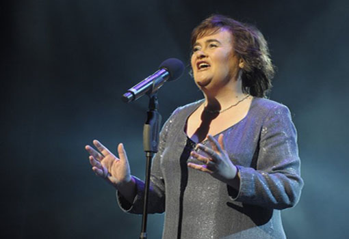 "<div class=""meta ""><span class=""caption-text "">Susan Boyle turns 51 on April 1, 2012. The 'Britain's Got Talent' singer is known for songs such as 'I Dreamed a Dream,' 'Wild Horses,' 'Cry Me a River,' and 'Amazing Grace.'  (facebook.com/#!/susanboyle)</span></div>"