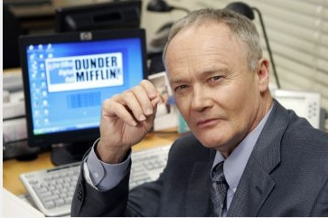 Creed Bratton as Creed in the American version...