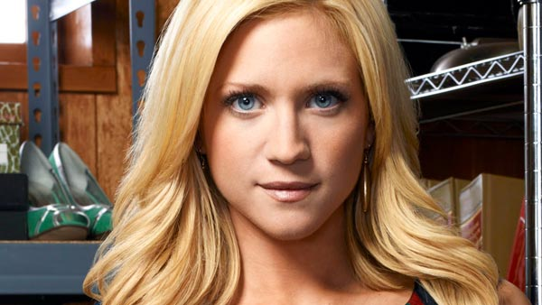 Brittany Snow appears in a promotional photo for the series 'Harry's Law,' which debuted on NBC in 2011.