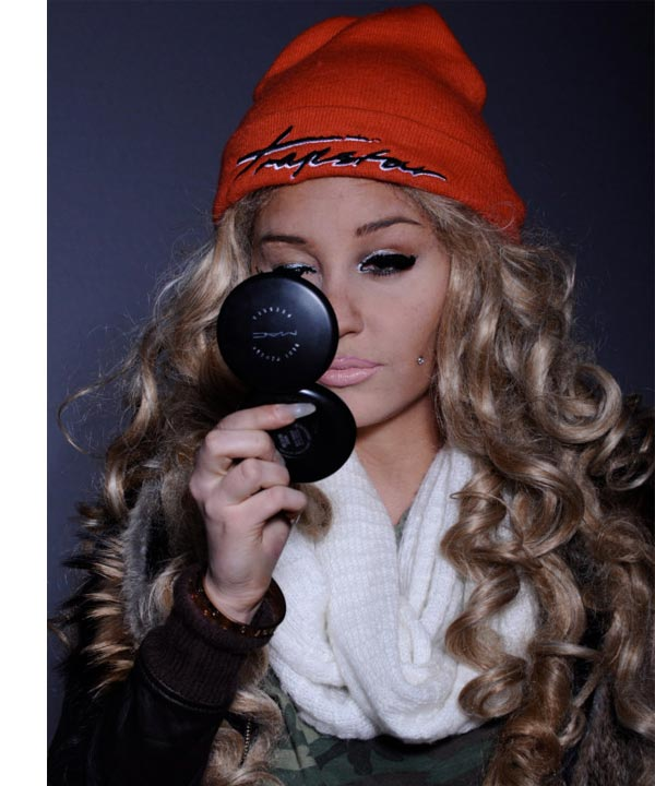 Amanda Bynes appears in a photo from her Twitter account on March 10, 2013. - Provided courtesy of twitter.com/AmandaBynes