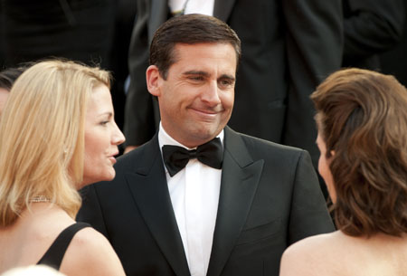 Steve Carell on the red carpet, 2010.