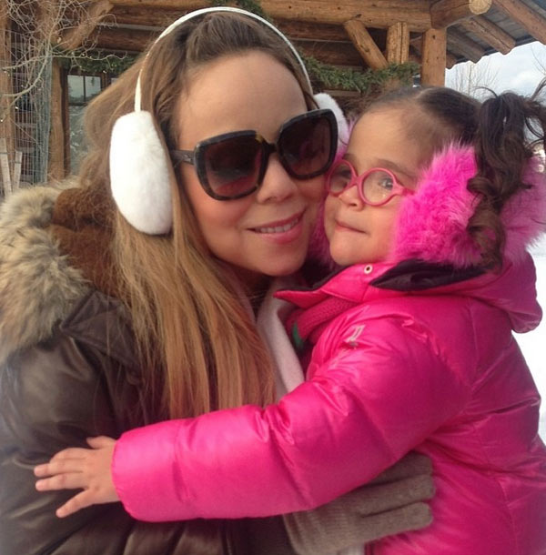 Mariah Carey shared this Instagram photo of herself with daughter Monroe on Dec. 22, 2013, four days before Christmas 2013, saying: &#39;A roe roe moment.&#39; <span class=meta>(instagram.com&#47;p&#47;iPu84RreLS&#47; instagram.com&#47;mariahcarey)</span>