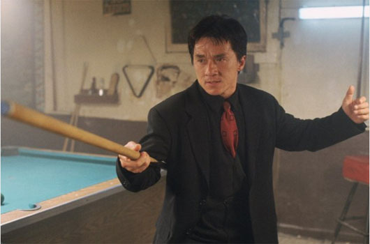 Jackie Chan turns 58 on April 7, 2012. The actor is known for films such as &#39;Rush Hour,&#39; &#39;Rush Hour 2,&#39; and &#39;Shanghai Noon.&#39; <span class=meta>(New Line Cinema&#47;Roger Birnbaum Productions)</span>