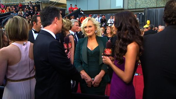 Glenn Close turns 65 on March 19, 2012. The actress is known for movies such as &#39;Dangerous Liaisons,&#39; &#39;Mars Attacks!,&#39; &#39;Air Force One&#39; and &#39;101 Dalmatians&#39; and stars in the show &#39;Damages.&#39; &#40;Pictured: Glenn Close talks to OnTheRedCarpet.com at the Academy Awards on Feb. 26, 2012. She was nominated for an Oscar for her role in the 2011 movie &#39;Albert Nobbs.&#39;&#41; <span class=meta>(OTRC)</span>