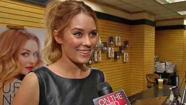 Lauren Conrad talks to OnTheRedCarpet.com on...