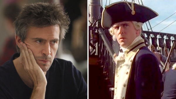 Jack Davenport appears in a scene from a 2012 episode of 'Smash.' / Jack Davenport is pictured in a scene from the 2003 movie 'Pirates of the Caribbean: The Curse of the Black Pearl.'