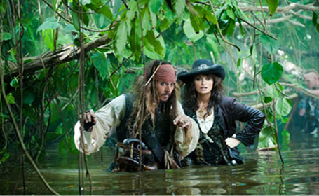 Pen&#233;lope Cruz turns 38 on April 28, 2012. The actress is known for films such as &#39;Volver,&#39; &#39;Pirates of the Caribbean: On Stranger Tides,&#39; &#39;Vanilla Sky,&#39; &#39;Blow&#39; and &#39;Vicky Cristina Barcelona,&#39; &#39;Broken Embraces.&#39; &#40;Pictured: Pen&#233;lope Cruz and Johnny Depp in a scene from &#39;Pirates of the Caribbean: On Stranger Tides.&#39;&#41;  <span class=meta>(Walt Disney Pictures&#47;Jerry Bruckheimer Films)</span>
