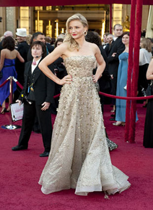 Academy Award presenter Cameron Diaz arrives at the 82nd Annual Academy Awards at the Kodak Theatre in Hollywood, CA, on Sunday, March 7, 2010. <span class=meta>(Matt Petit &#47; &#38;copy;A.M.P.A.S.)</span>
