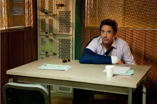 Robert Downey Jr. in 'Due Date.'