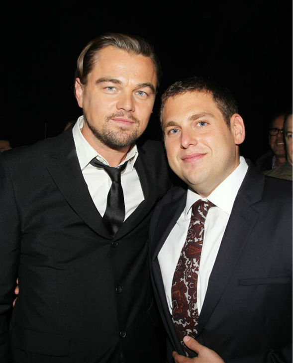 Leonardo DiCaprio and Jonah Hill attend an after party following the premiere of &#39;The Wolf of Wall Street&#39; in New York on Dec. 17, 2013. <span class=meta>(Dave Allocca &#47; Startraksphoto.com)</span>