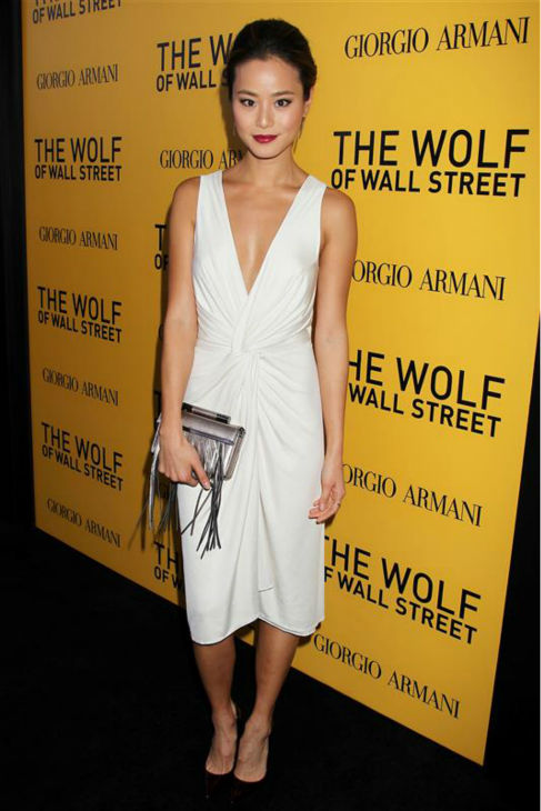 Jamie Chung attends the premiere of &#39;The Wolf of Wall Street&#39; in New York on Dec. 17, 2013. <span class=meta>(Dave Allocca &#47; Startraksphoto.com)</span>