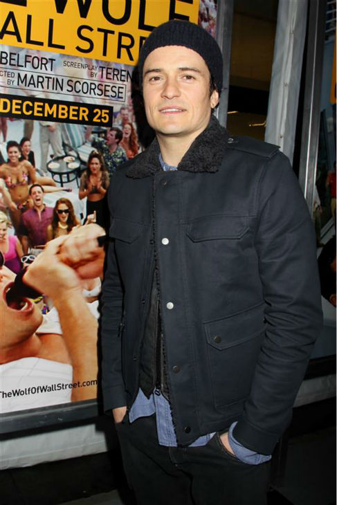 Orlando Bloom attends the premiere of &#39;The Wolf of Wall Street&#39; in New York on Dec. 17, 2013. <span class=meta>(Dave Allocca &#47; Startraksphoto.com)</span>