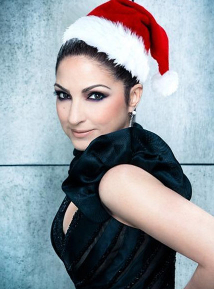 Singer Gloria Estefan shared this photo on Dec. 25, 2012, saying: 'I wish you a Merry Christmas, I wish you a Merry Christmas, I wish you a Merry Christmas, and a Happy New Year! Love you!'