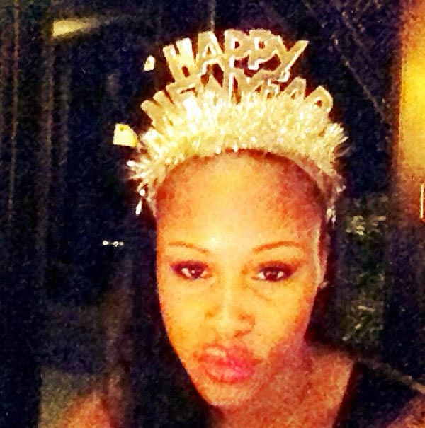 Eve posted this photo on Instagram on Dec. 31, 2012.